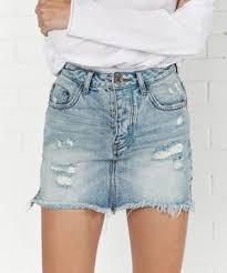 denim skirts oneteaspoon denim skirts