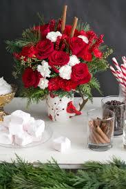 make the holidays fun with a send a hug christmas cardinal bouquet