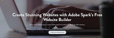 Free App To Design Your Own Home Website Builder Create Your Own Website For Free Adobe Spark