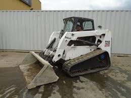 bobcat t 250 rigid backhoe loader cautrac