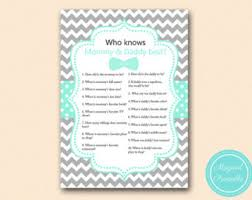 who knows best baby shower who knows best etsy