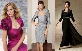 decent style to try mother of the bride dress with bolero jacket