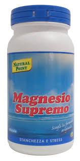 magnesio supremo bustine magnesio supremo 150g integratore dolori articolari stanchezza