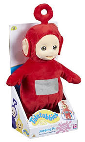 teletubbies jumping po toy red amazon uk toys u0026 games
