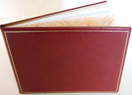 leather guest book leather guest books handmade in by charing cross ltd