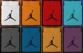 Michael Jordan Bedroom Set Basketball Bedding Duvet Cover Air Jordan Jumpman Queen King