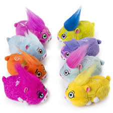 zhu zhu pets 4 furry hamster toy squiggles toys