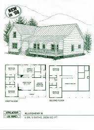 modern log cabin floor plans home act