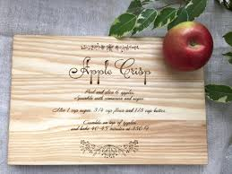 cutting board with recipe engraved 168 best cutting board images on cuttings plant