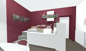 chambre fille avec lit mezzanine dressing sous lit mezzanine realisation dune chambre enfant avec lit