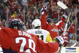 the only thing hotter than alex ovechkin right now is the sun