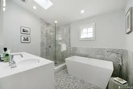 Bathrooms With Freestanding Tubs Contemporary Full Bathroom With Freestanding Bathtub U0026 Handheld