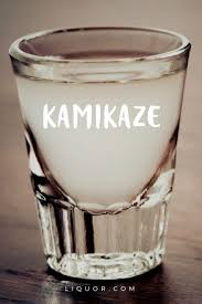 kamikaze shot and cocktail recipe