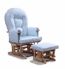 Nursing Rocking Chairs Baby Blue Supremo Bambino Nursing Glider Gliding Rocking Maternity