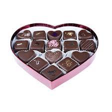heart box of chocolates 16 custom heart box of truffles chocolates