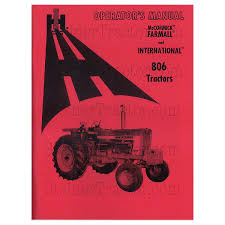 rep119 operators manual ih 806