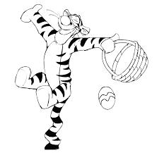 winnie the pooh easter basket winnie the pooh tigger easter basket coloring page printables