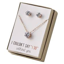 bridesmaid jewellery top 10 best bridesmaid jewelry gift sets