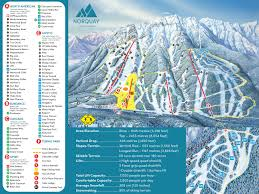 Mountain Ranges World Map by Trail Map Mt Norquay U2013 Banff