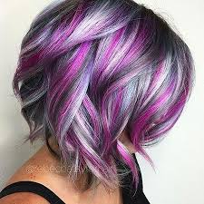 short hairstyles with peekaboo purple layer short cute color hair health beauty pinterest shorts hair