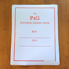 fall activities boredom buster book twitchetts