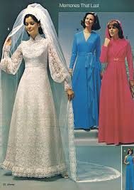 jcpenney wedding gowns wedding by jc penney 1975 omg the dreaded 1970 s wedding gowns