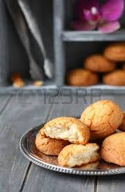 lithuanian traditional christmas poppy seed cookies stock photo