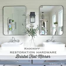 Restoration Hardware Bathroom Mirrors Modern Essential Bathroom Mirrors