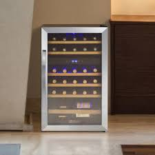 Wine Cabinet With Cooler by Allavino 29 Bottle Cascina Dual Zone Freestanding Wine Cooler