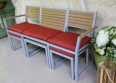 Small Space Patio Sets by Antonia Table 6 Monza Chairs Patio Dining Set à Acheter