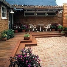 brilliant backyard wood patio ideas 17 best ideas about wood patio
