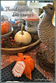 corner of plaid and paisley thanksgiving blessings hop