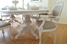 Chic Dining Room Shabby Chic Table By Chic Dining Table And Chairs Fair Design