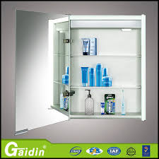 Bathroom Mirror Cabinets With Light by Assurance China Supplier Aluminum Alloy Material Bathroom