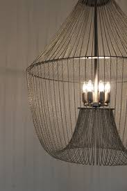 Diy Ball Chandelier Ball Chain Chandelier With Six Lamps