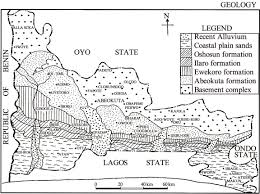 Nigeria State Map by Radionuclide Contents And Physicochemical Water Quality Indicators