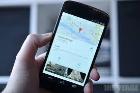 Google Maps For Android Google Maps For Android New Design Improved Navigation And