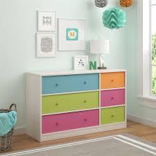 Pink Tool Box Dresser by Cosco Applegate 6 Drawer Muti Colored Dresser 5886218pcom The
