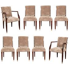 suite of eight art deco dining chairs dining chairs art deco