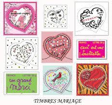 timbre poste mariage timbres mariage idée organiser un mariage morgane damien