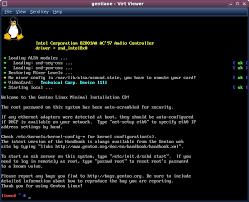 tutorial gentoo linux gentoo 10 1 vm installation guide
