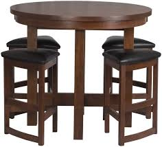 Round Kitchen Table And Chairs Walmart by Bar Table Sets Large Size Of Tall Kitchen Table In High Top Inside