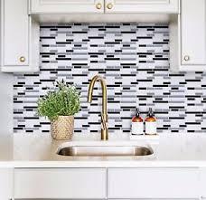 stick on backsplash tiles for kitchen peel and stick backsplash tile for kitchen self adhesive wall