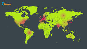 Live Attack Map Real Time Internet Monitor Akamai