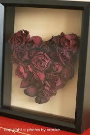 Wedding Wishes Shadow Box Rose Heart Shadow Box Preserve Wedding Bouquets Shadow Frame