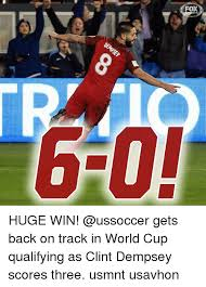 Us Soccer Meme - fo 6 0 huge win gets back on track in world cup qualifying as