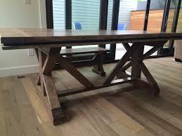 Tables For Dining Room Farmhouse X Table