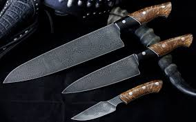 custom kitchen knives for sale hhh custom knives and damascus