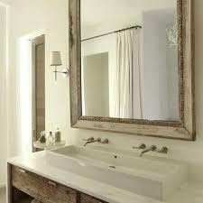 trough sink bathroom vanity design ideas
