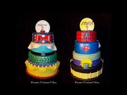 disney princess u0026 super hero double sided spinning cake kosmic